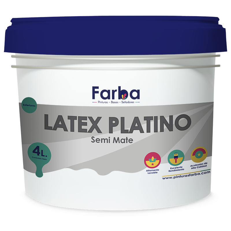 Latex Platino Semi Mate